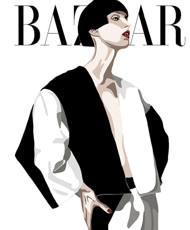 Bazar magazine cover