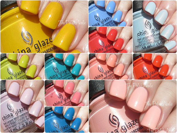 China Glaze Spring 2015 Road Trip Collection