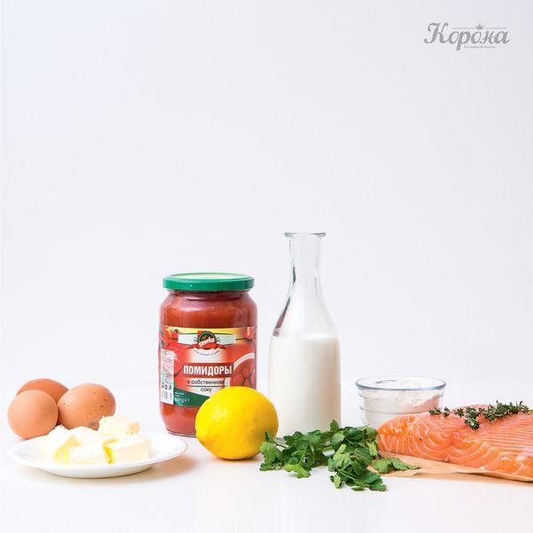 ингредиенты Террин из лосося
