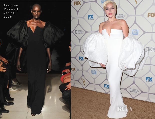 Lady-Gaga-In-Brandon-Maxwell-Emmy-Awards-Fox-After-Party