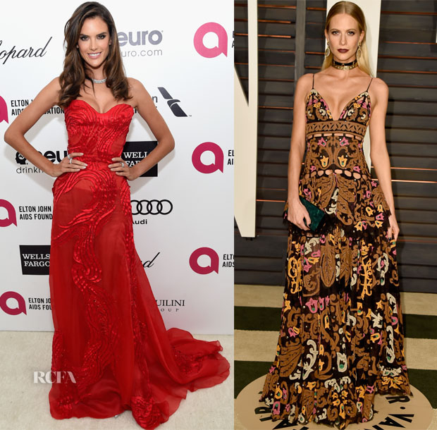 Models---The-2015-Oscars-Parties