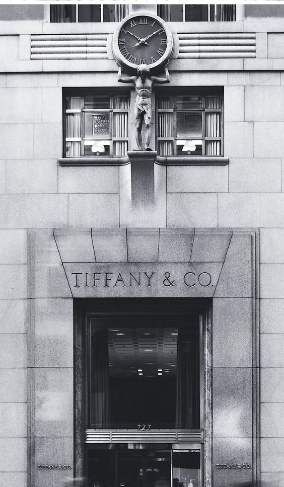 We've been setting time for New York since 1853 when Charles Lewis Tiffany installed the Atlas clock above his flagship store_cr