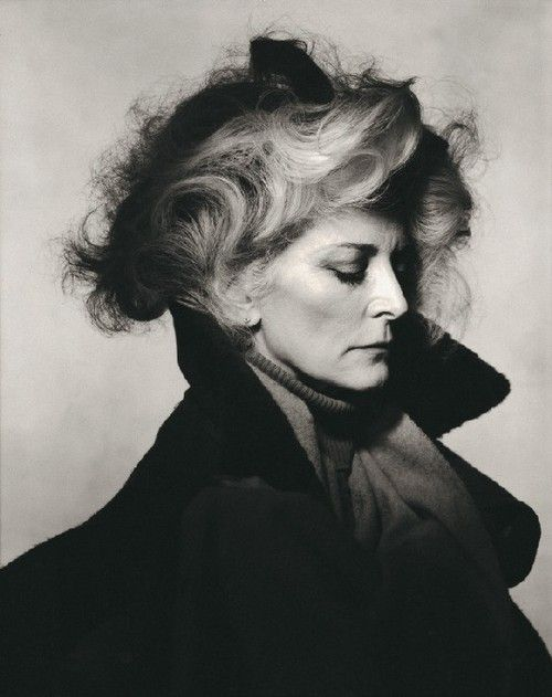 Carmen Dell'Orefice by Irving Penn