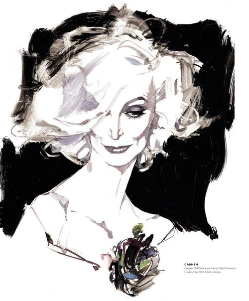 Illustrated by David Downton