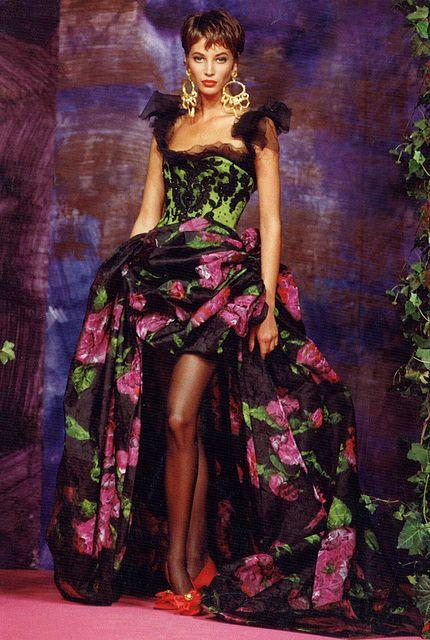 Lacroix Haute Couture Fall-Winter 1990