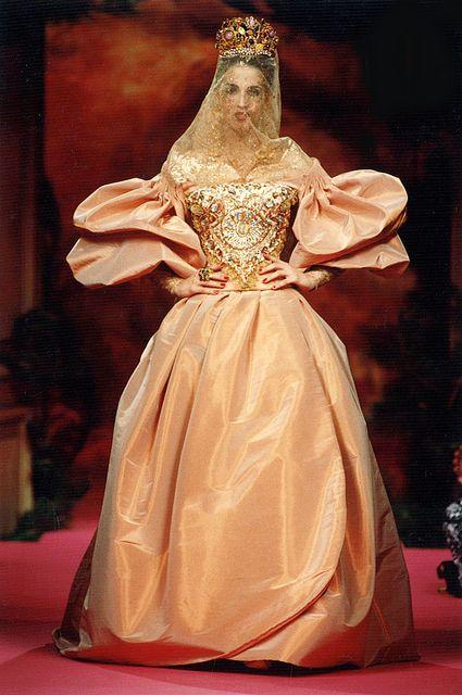 Lacroix Haute Couture Fall-Winter 1991