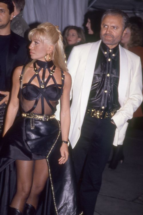 Versace at the Met Gala 1996