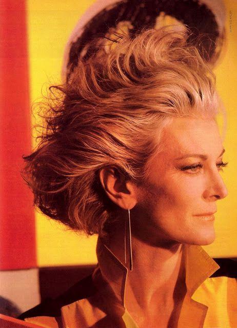 Vogue Belleza September 1982 feat Carmen Dell' Orefice