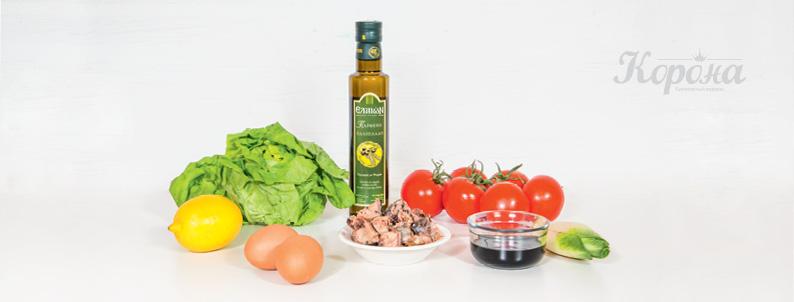 ингредиенты_Салат с тунцом и пряной заправкой