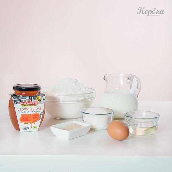 ингредиенты Пирог с апельсиновым вареньем