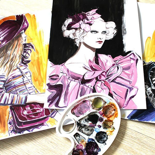 zhenya zhuravlyova+illustrator