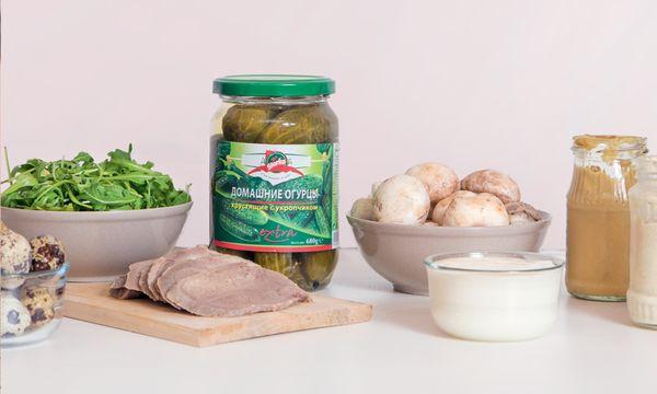 ингредиенты Салат с языком