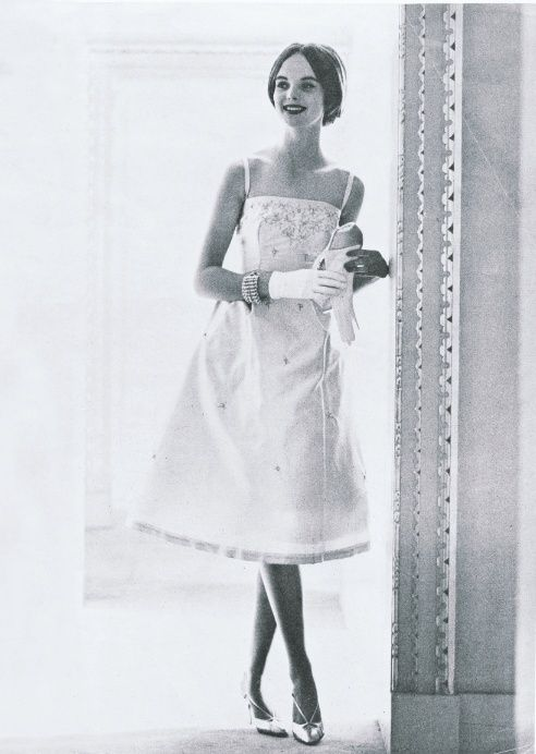 6 Grace Coddington's first model shoot for British Vogue in 1959
