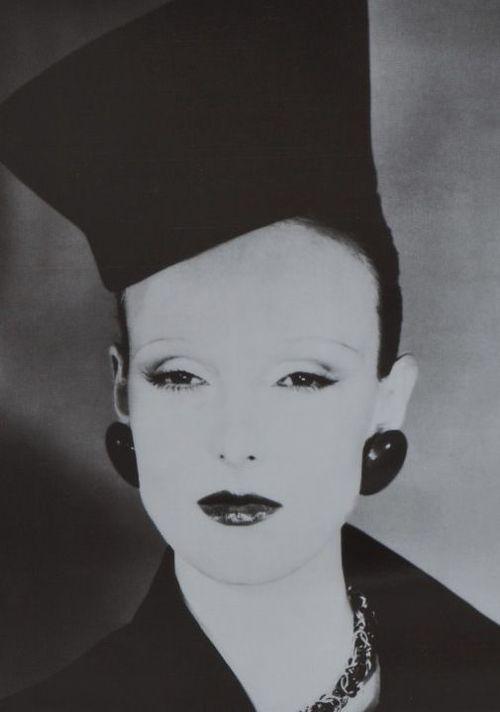 Grace Coddington photographed by Guy Bourdin, 1972