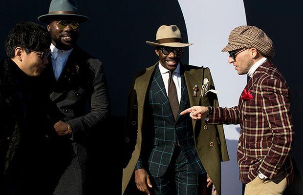Мужчины мечты на Pitti Uomo: лучшие образы