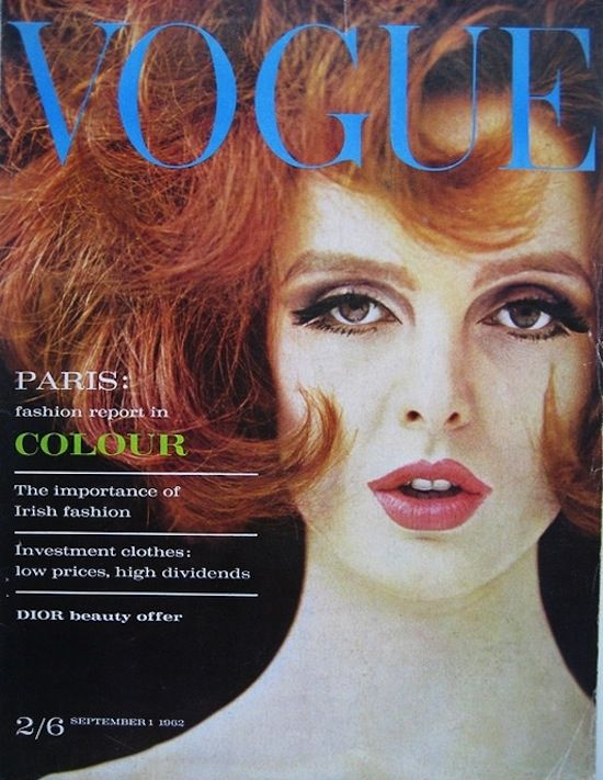VOGUE September 1962 Grace Coddington