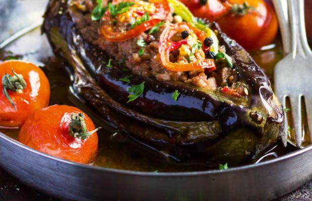 Авторские рецепты от «Короны»: баклажаны по-гречески