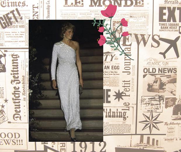 Принцесса Уэльская. Собрали эффектные выходы леди Ди в вечерних платьях