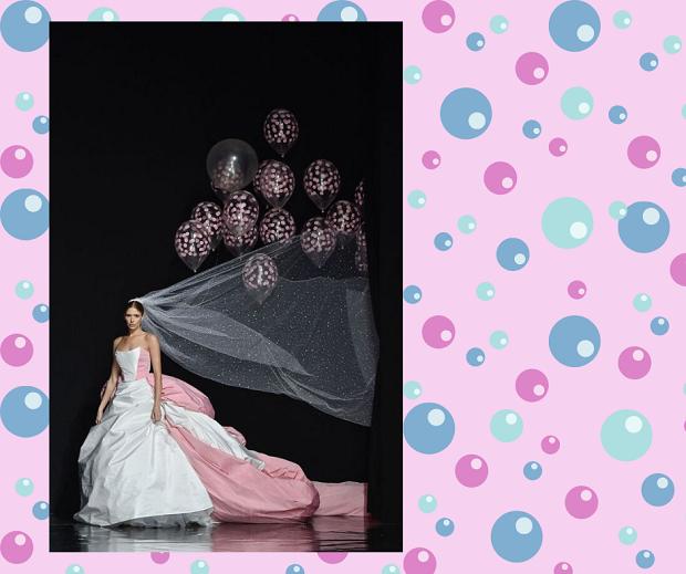 Вместо подружек невесты: теперь свадебную фату могут «нести» шары
