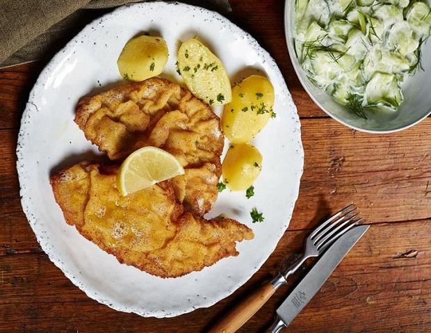 Не овощами едиными. Рецепт венского шницеля из телятины для необычного ужина