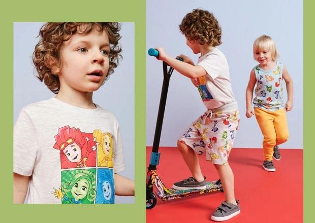 Стало известно, когда в Беларуси появится новая детская коллекция H&M с Фиксиками
