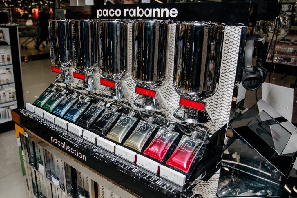 На днях в магазине Кравт в ТЦ Гринсити состоялась презентация коллекции новых ароматов Paco Rabanne #pacollection